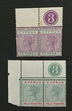 MOMEN: CYPRUS SG # 1894-6 MINT OG NH/H LOT #204274-10032