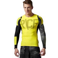T-shirt Reebok Crossfit Compression Mens Long Sleeve Training Top Speedwick S