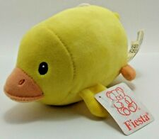 """Fiesta Yellow Duckling Plush - 7.5"""" - New with Tag (Tsum Tsum Style)"""