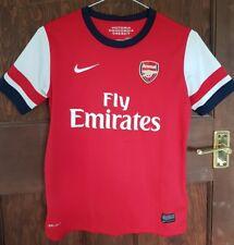 Arsenal Nike Home Shirt 2012-14, 10-12 ans, bon état