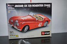 jaguar xk-120 roadster 1948 1/24 bburago METAL MODEL KIT ASSEMBLED