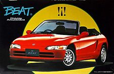 Honda Beat Roadster with Softtop red 1991-96 - 1:24 Bausatz