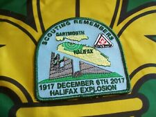 Scouts Canada Scouting Remembers Halifax Explosion Badge