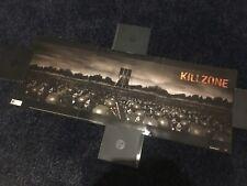 Killzone promotional poster E3 promo RARE NFS kill zone Guerrilla Games PS2