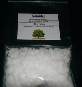100 g Kampfer 100% reines Naturprodukt - ohne Chemische Zusätze !