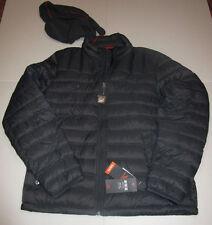 Nwt Mens Dockers Gray Lighweight Packable Down Puffer Jacket Coat Large $180