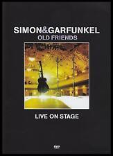 SIMON & GARFUNKEL ( DVD ) OLD FRIENDS LIVE ON STAGE ~ PAL DVD ~ PAUL & ART *NEW*