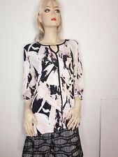 Womans top shirt blouse Avenue 18/20 plus size bling Gorgeous 3/4 sleeves