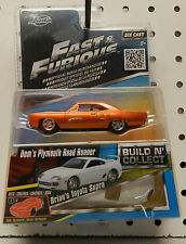 1970 PLYMOUTH ROADRUNNER TOYOTA SUPRA BRIAN DOM'S MOPAR 70 FAST AND FURIOUS JADA