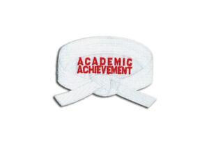 Academic Achievement Patches, Martial Arts, Promotion Belt Rank Patch, Sew-on
