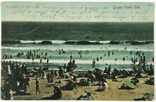 New listing Bathing In The Surf Beach Swim Ocean Park California CA Vintage 1900's Postcard
