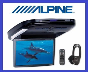ALPINE PKG-2100P OVERHEAD MONITOR DVD DivX, FM, NEW, 2 YEAR WARRANTY, BEST PRICE