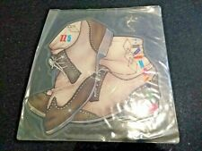 """VIA MARCONI """"SERIOUS DANCING"""" 1983 SHAPED PIC DISC (SYNTH POP)"""