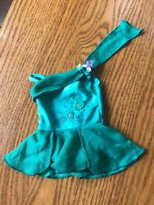 American Girl Mia Ice Skating Performance Dress  Turquoise-Green Skate Dress