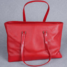 NEW Wilson's Leather Pelle Studio Red Women's Genuine Leather Tote Shoulder Bag