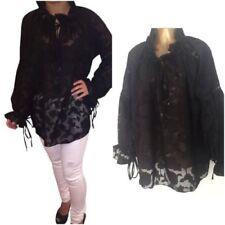 Maglie e camicie da donna a manica lunga floreale taglia L