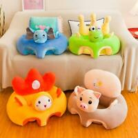 Portable Infants Sofa Support Seat Cover Baby Plush Chair Learning To Sit Kids