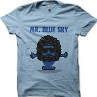 MR BLUE SKY inspired by JEFF LYNNE's ELO printed t-shirt 9113