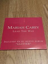 Mariah Carey - Lead The Way *Promo* CD Single