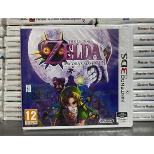 ZELDA MAJORA'S MASK NINTENDO 3DS 2DS ANCHE XL GIOCO NUOVO SIGILLATO IN ITALIANO