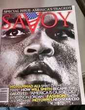 RARE** SAVOY 9/11/01 Special Issue Muhammad Ali America's tragedy c56