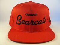Cincinnati Bearcats NCAA Adidas Snapback Hat Cap Red