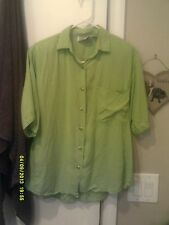 Andrew Sport / Energie - Ladies Blouse & Crop Shell - Pre-owned - Size Medium