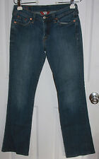 Lucky Brand Classic Rider Blue Jeans 2/26 Cotton Blend Stretchy