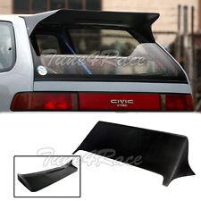 88-91 Civic J Style Rear Roof Spoiler Wing FRP 3Dr Hatchback Body Kit EF9