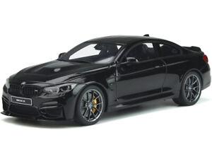 BMW M4 CS F82 BLACK SAPPHIRE W/CARBON TOP 1/18 MODEL CAR BY GT SPIRIT GT845