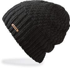Dakine ZOE Womens Novelty Knit Beanie Black NEW Sample