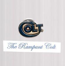 ONE SERPENTINE COLT FIREARMS 3/4'' LAPEL TAC PIN GP BLUE ENAMEL NEW CONDITION