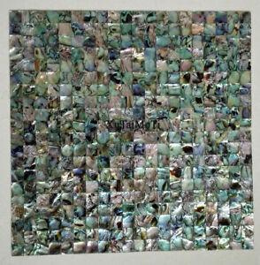 New zealand Abalone Shell Mosaic SeeTile Kitchen Backsplash Bathroom Hotel Wall