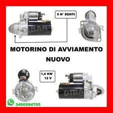 MOTORINO AVVIAMENTO NUOVO LOMBARDINI-PIAGGIO PORTER VARI MODELLI 0001314001