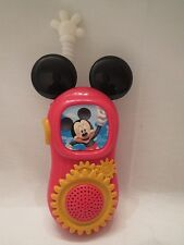 Mickey Mouse Walkie Talkie push-to-talk Kids outdoor activities Fun game