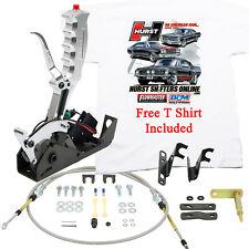 Hurst 3162020 Pistol Grip Quarter Stick Shifter Powerglide,Turbo 350 400, FREE T