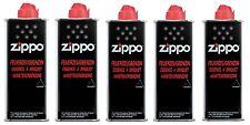 ZIPPO Feuerzeug Benzin 5 x 125 ml Feuerzeugbenzin TOP ANGEBOT NEU OVP