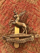 More details for original  cap badge of the huntingdonshire cyclist battalion