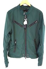 NWT Diesel Men's Forest Green J-EDGEA Bomber 100 % Polyester Jacket Large Y19162