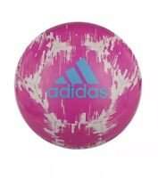 Brand New adidas Pink White Glider Ball 2 Size 5 Soccer Ball Fútbol
