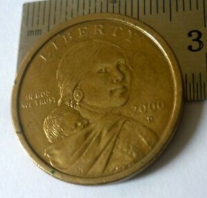 United States Millennium $1 'Mother & Son' Extremely Fine.