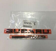 "Genuine OEM Subaru 93079FJ060 ""Subaru AWD"" Rear Letter Emblems Crosstrek Impreza"