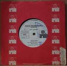 "UDO JURGENS 1982 Walk Away/Back In Brazil 7"" Nm PROMO 45 BRAZIL aus brasilien"