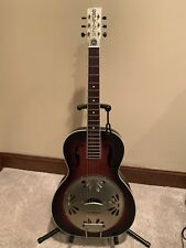 Gretsch Guitars G9241 Alligator Biscuit Round Neck Resonator Acoustic Electric