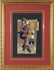 About You Gold Frame Original Collage Bryan Collier African American Art Print