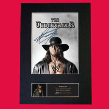 Wrestling Collectable Pre-Printed Music Autographs