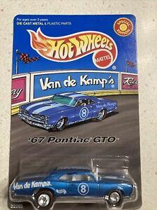 Hot Wheels Van de Kamp's '67 Pontiac GTO Redline Real Rider Tires MINT!
