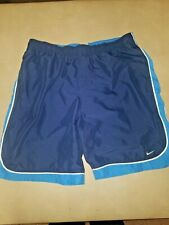 Nike Basketball Shorts Mens Size Xl Blue in good clean condition.