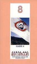 Tampa Bay Buccaneers at Chicago Bears 1998 NFL ticket stub Topps Warren Sapp HOF