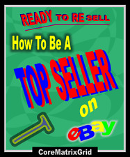 Ready To Resell How To Be a Top Seller on eBay Auction Template & Promotion Plan